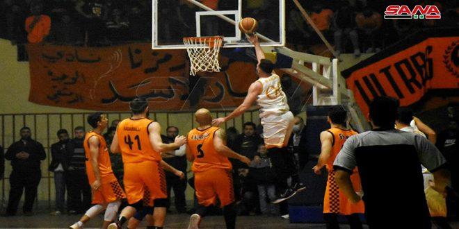 جهود استثنائية ساهمت في صدارة الكرامة في دوري كرة السلة