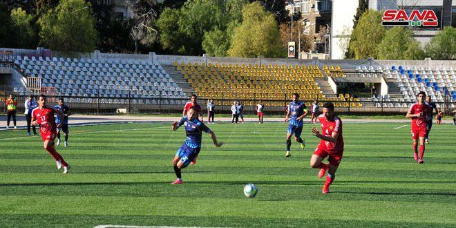 فرق المقدمة تشرين والجيش والكرامة تحقق الفوز في الجولة الثامنة عشرة من الدوري الممتاز لكرة القدم