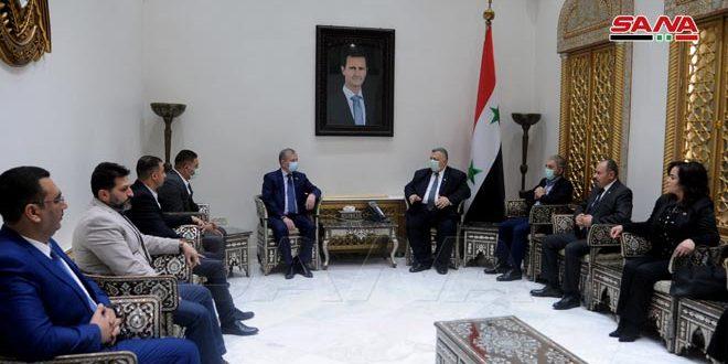 صباغ: العلاقات السورية الروسية متجذرة ومتينة ومتميزة على الدوام