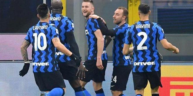 إنتر ميلان يفوز على أتلانتا في الدوري الإيطالي