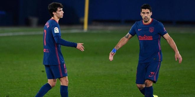 اتلتيكو مدريد يفوز على فياريال بثنائية في الدوري الإسباني