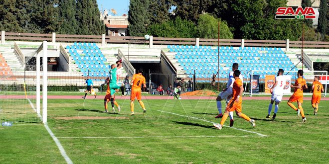 فوز الوحدة على الجيش في الجولة التاسعة عشرة من الدوري الممتاز لكرة القدم