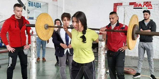 اختتام بطولة السويداء بالقوة البدنية للشباب والشابات والجامعات