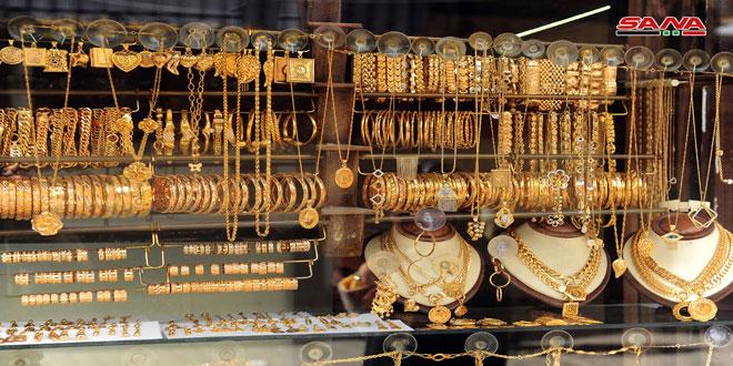 غرام الذهب يرتفع 4 آلاف ليرة في السوق المحلية