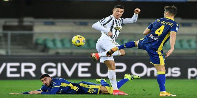 رونالدو يعزز صدارته لهدافي الدوري الإيطالي