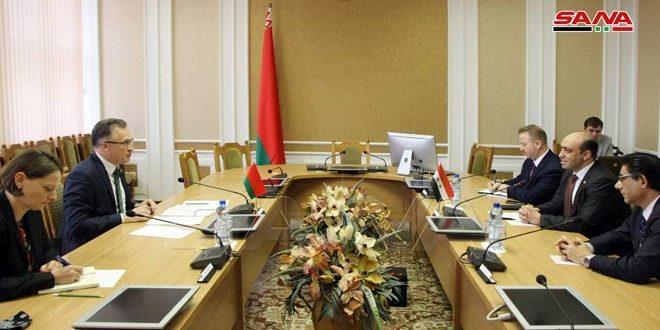 بيلاروس تجدد دعمها لسورية في الحفاظ على سيادتها ووحدة أراضيها