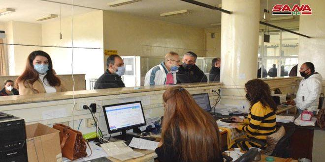 مديرية نقل حمص تنجز الأرشفة الإلكترونية للمركبات