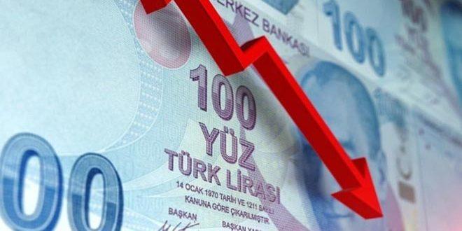 تراجع الليرة التركية