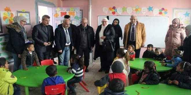 التربية تطلق حملة مكافحة الديدان الطفيلية في مدارس ريف إدلب المحرر
