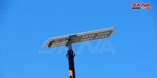 7000 جهاز إنارة بالطاقة الشمسية في 10 محافظات والعمل جار على تركيب المزيد