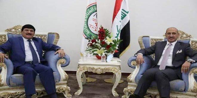 مباحثات سورية عراقية في مجال الرياضة والشباب