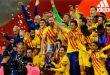 برشلونة يسحق بيلباو ويتوج بكأس ملك إسبانيا