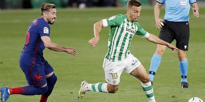 تعادل أتلتيكو مدريد وريال بيتيس في الدوري الإسباني