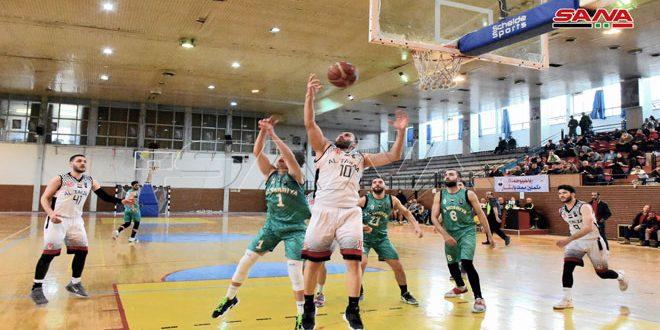 فوز الطليعة على الحرية في إياب دوري كرة السلة للرجال
