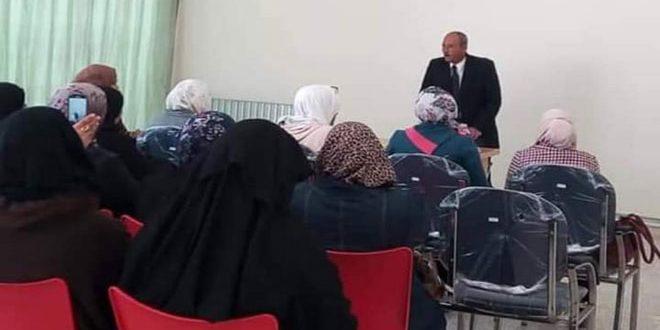 فعاليات ونشاطات منوعة ضمن حملة أيام الأسرة السورية بدرعا
