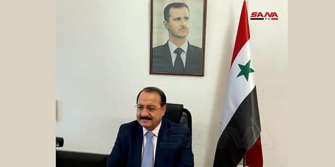 السفير حداد: ضرورة تضافر جهود القضاء على الإرهاب بعيداً عن التسييس والانتقائية