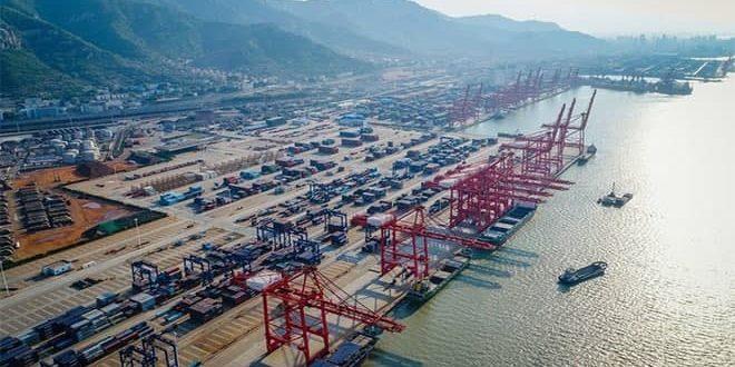 ارتفاع الصادرات والواردات الصينية