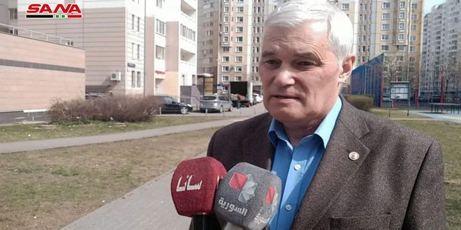 سياسي روسي: إجراء الانتخابات الرئاسية انتصار جديد للشعب السوري
