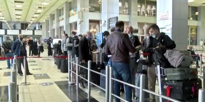 إقلاع أول رحلة جوية من دمشق إلى روسيا بعد توقف لأشهر بسبب كورونا