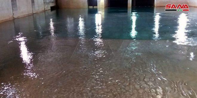 المباشرة بتزويد أهالي بسيمة بريف دمشق بالمياه
