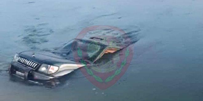 وفاة ثلاث نساء وسبعة أطفال إثر تدهور سيارة وسقوطها بقناة مياه بريف حلب