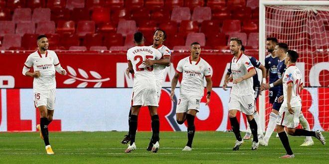 إشبيلة يفوز على سلتا فيغو في الدوري الإسباني