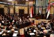 رئيس مجلس الشعب يعلن تبلغ المجلس بتقديم مرشحين اثنين طلبي ترشيح إلى منصب رئيس الجمهورية