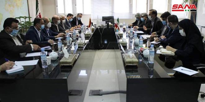 الوفد الاقتصادي السوري يبحث مع وزير الطرق وبناء المدن الإيراني تعزيز التعاون بين البلدين