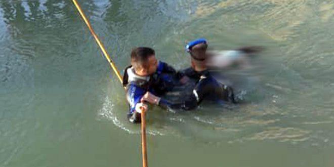 غرق طفلين في ساقية للري بحمص
