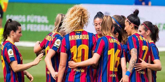 سيدات برشلونة يحرزن لقب الدوري الإسباني للمرة السادسة