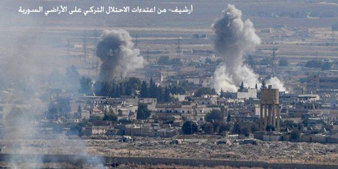مقتل وإصابة 5 من قوات الاحتلال التركي ومرتزقتها في عفرين بريف حلب