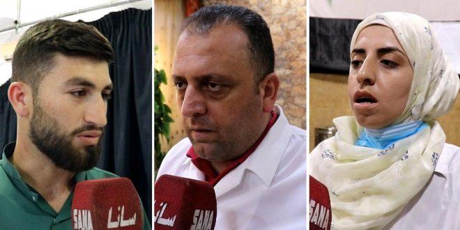 الكوادر الطبية في مشفى حماة الوطني: الانتخابات دافع لإعادة الإعمار