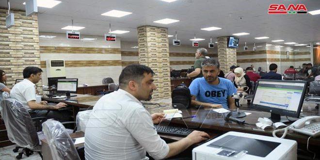 السورية للبريد في حلب تضع صالة خدمة المواطن في الخدمة