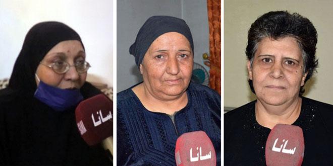 ذوو الشهداء: الشهادة حكاية سورية عريقة ودماء الشهداء أعادت الأمن والأمان إلى ربوع الوطن