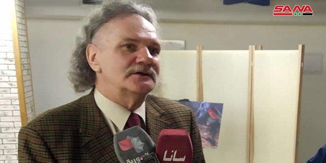 إعلامي روسي: إجراء الاستحقاق الانتخابي الرئاسي حق للسوريين ولا يمكن لأحد أن يفرض إرادته عليهم
