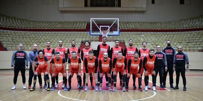 تحضيراً للنافذة الثالثة من التصفيات الآسيوية.. معسكر تدريبي لمنتخب سورية لكرة السلة في روسيا