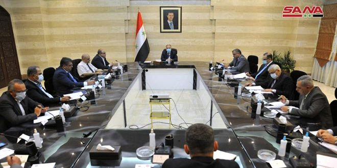 اللجنة العليا لإصلاح القطاع العام الاقتصادي تناقش مشروع قانون إدارة المصارف العامة وتعليماته التنفيذية