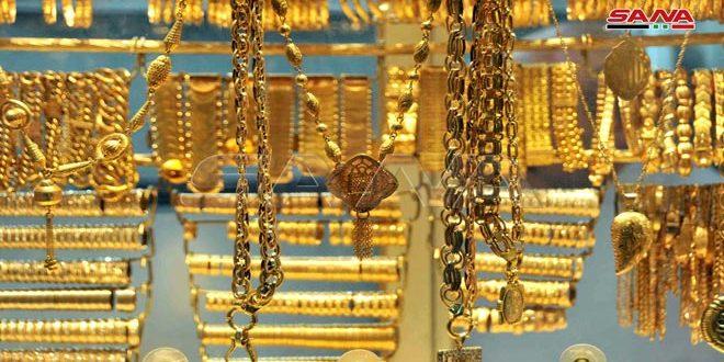 متأثرا بارتفاع سعر الأونصة عالمياً.. غرام الذهب يرتفع نحو 5 آلاف ليرة