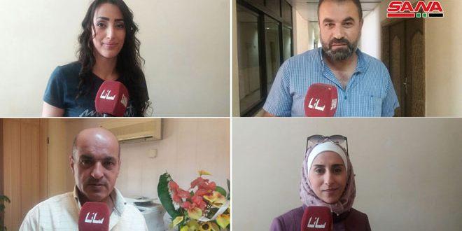 العاملون في القطاع الزراعي بالقنيطرة: المشاركة في الانتخابات خطوة نحو بناء سورية المستقبل