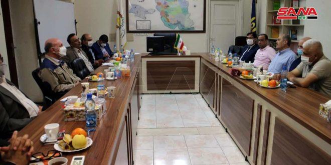 مباحثات سورية إيرانية لتعزيز التعاون في المجالات التجارية والصناعية