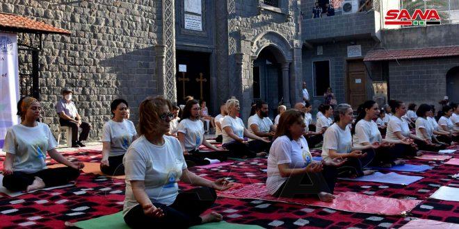 في اليوم العالمي لليوغا.. فعالية للسفارة الهندية بحمص