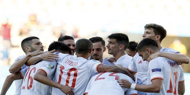 إسبانيا تسحق سلوفاكيا وتضرب موعداً مع كرواتيا بدور الـ 16