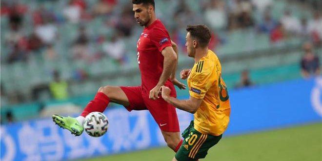 ويلز تهزم تركيا بثنائية في بطولة أمم أوروبا لكرة القدم