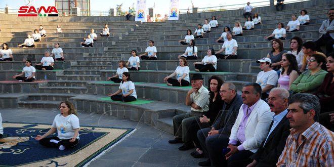 بمناسبة اليوم العالمي لليوغا.. فعالية للسفارة الهندية بالسويداء