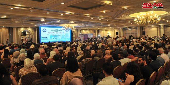 أحدث المستجدات التشخيصية والعلاجية في المؤتمر العلمي للجمعية السورية للمولدين والنسائيين
