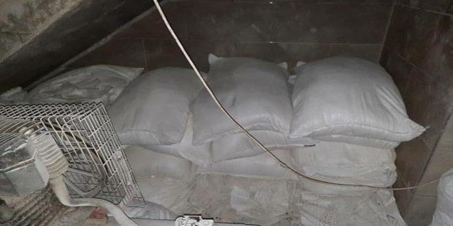 ضبط 12 كيس دقيق في مخبز معدة للتهريب باللاذقية