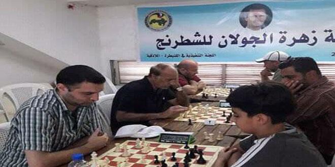 اختتام بطولة الشطرنج التنشيطية لفئة الرجال في اللاذقية