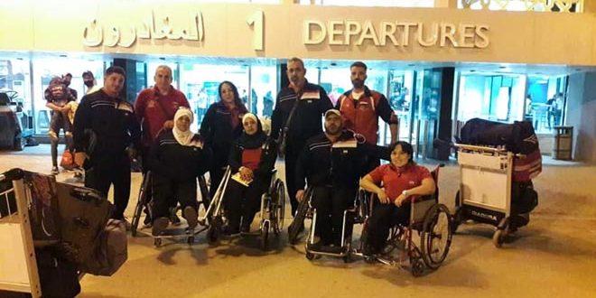 منتخب سورية للرياضات الخاصة للقوة البدنية يشارك ببطولة فزاع الدولية