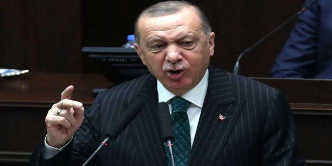 زلة لسان لأردوغان تفضح دوره التخريبي في سورية ودعمه التنظيمات الإرهابية فيها