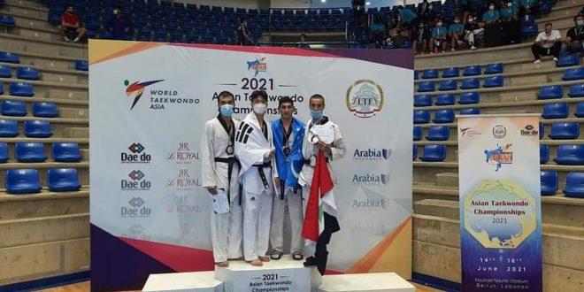 برونزية لسورية في اليوم الأول من بطولة آسيا للتايكواندو